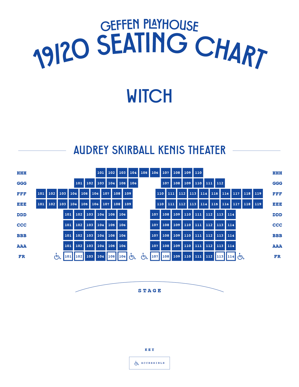 Geffen Playhouse Theater Seating Charts Geffen Playhouse